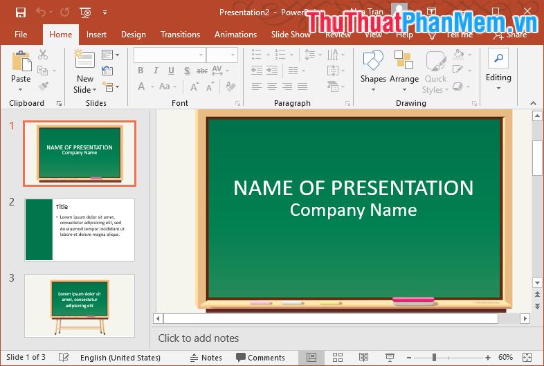Mẫu Template PowerPoint đẹp số 22