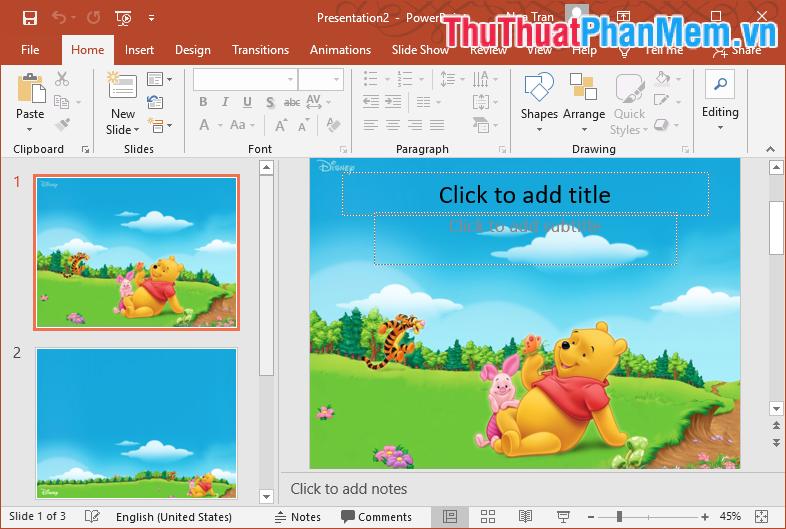 Mẫu Template PowerPoint đẹp số 24