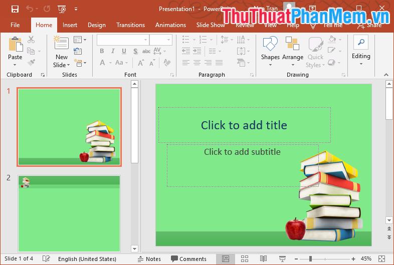 Mẫu Template PowerPoint đẹp số 8