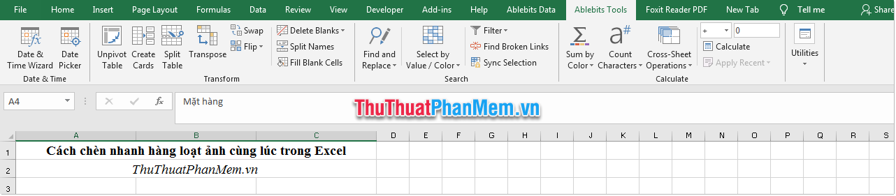 Thẻ Ablebits Tools