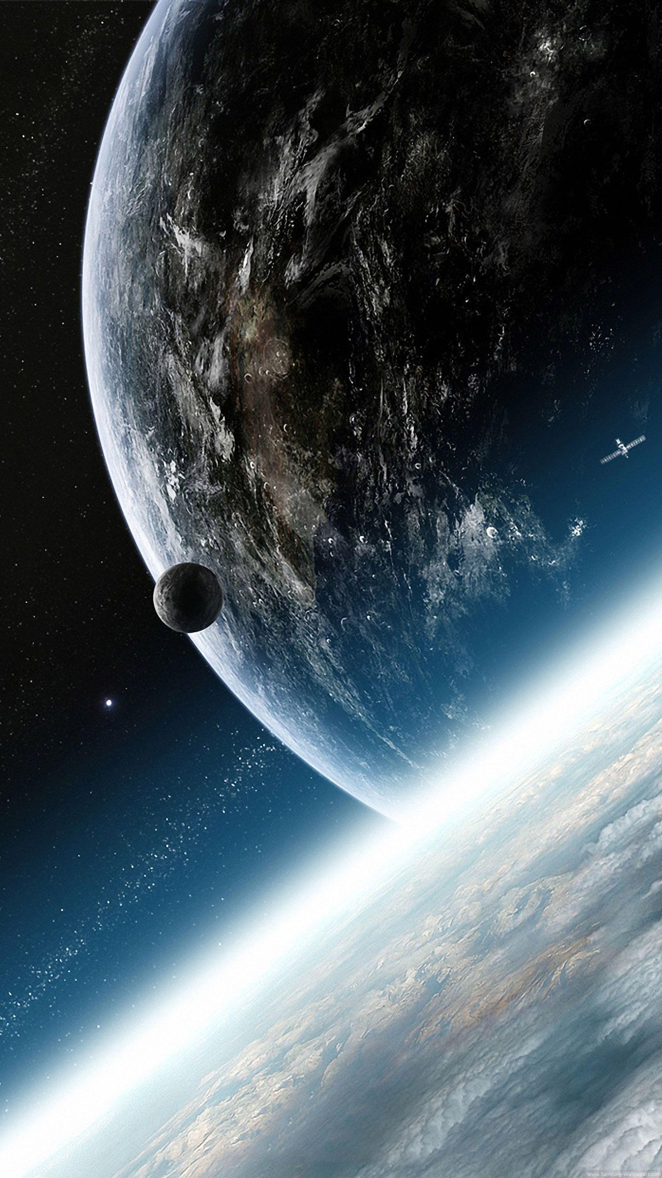 Ảnh 4k cực đẹp để làm hình nền điện thoại - Tinh hệ mặt trời