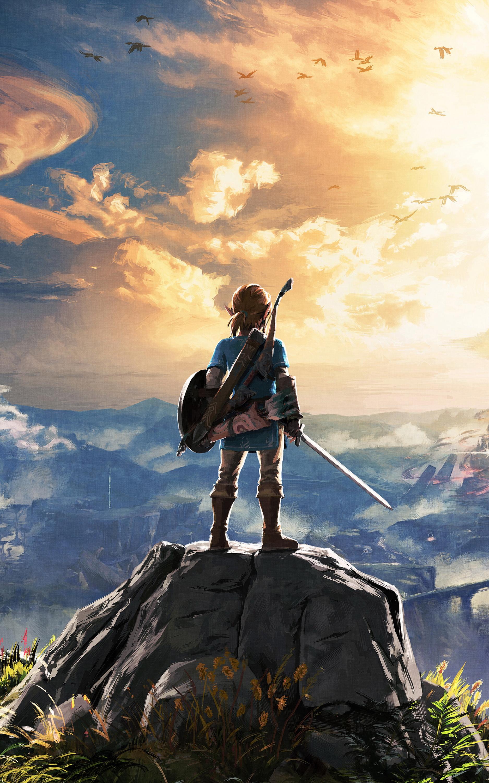 Ảnh đẹp 4k dành cho điện thoại - Zelda chinh phục thế giới