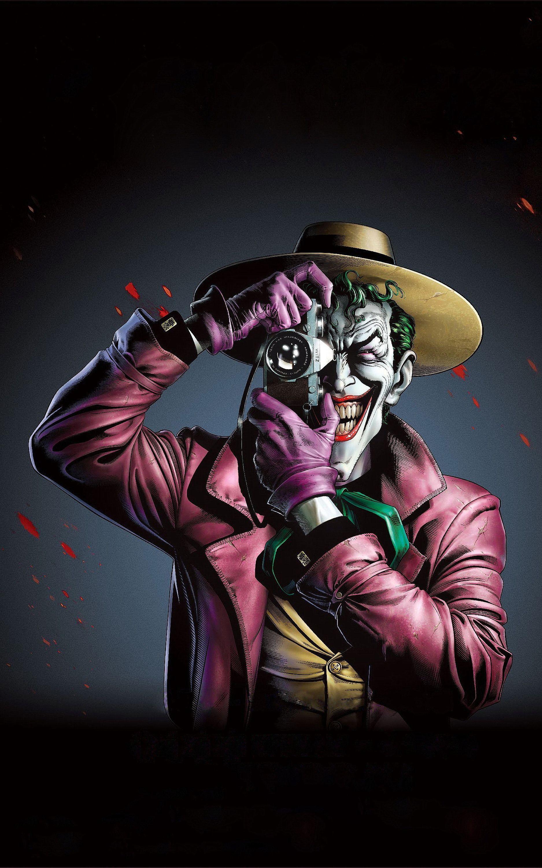 Ảnh đẹp 4k dùng cho điện thoại - Hoàng tử tội phạm Joker