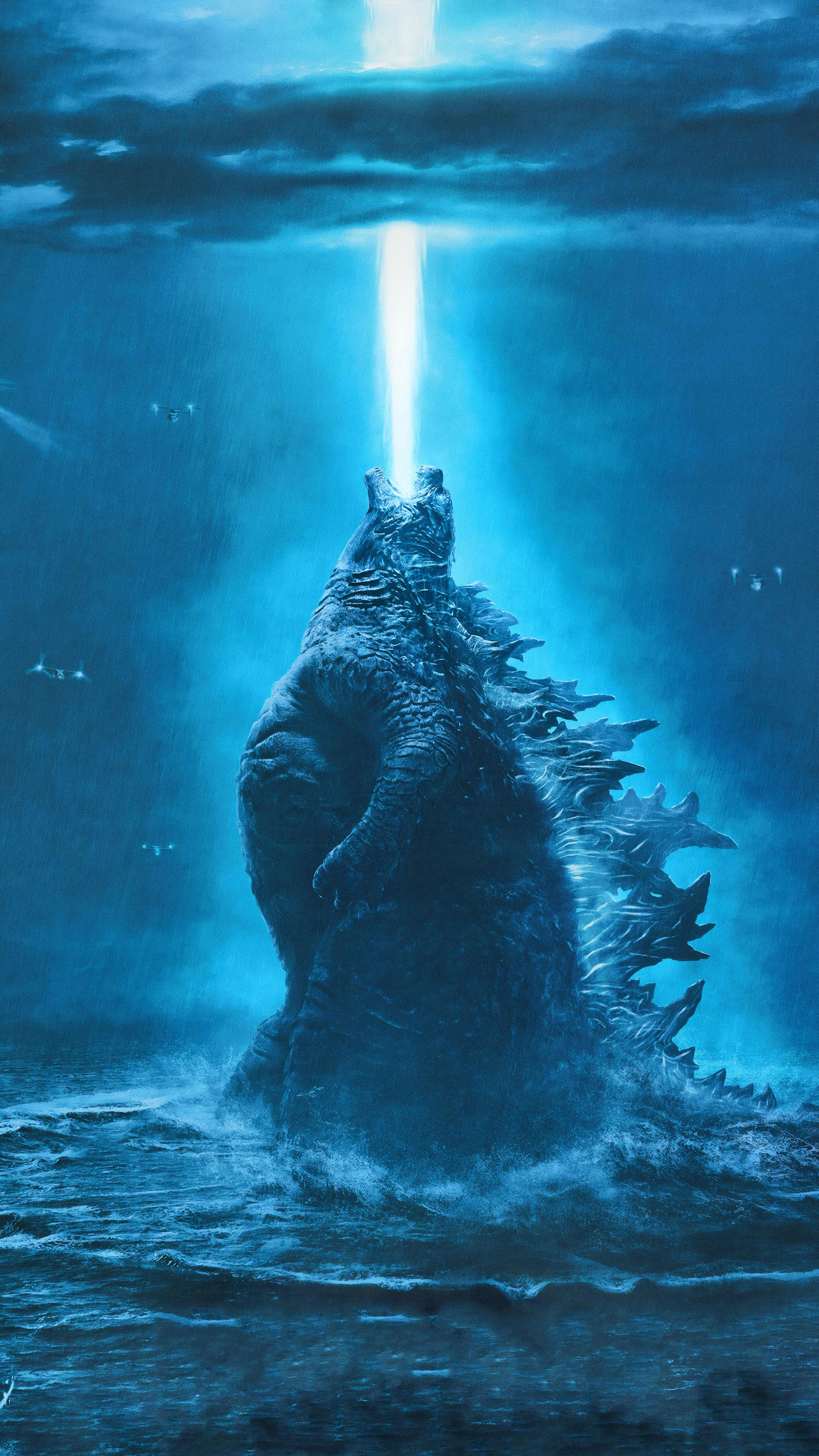 Ảnh đẹp 4k dùng cho điện thoại - Quái thú Godzilla
