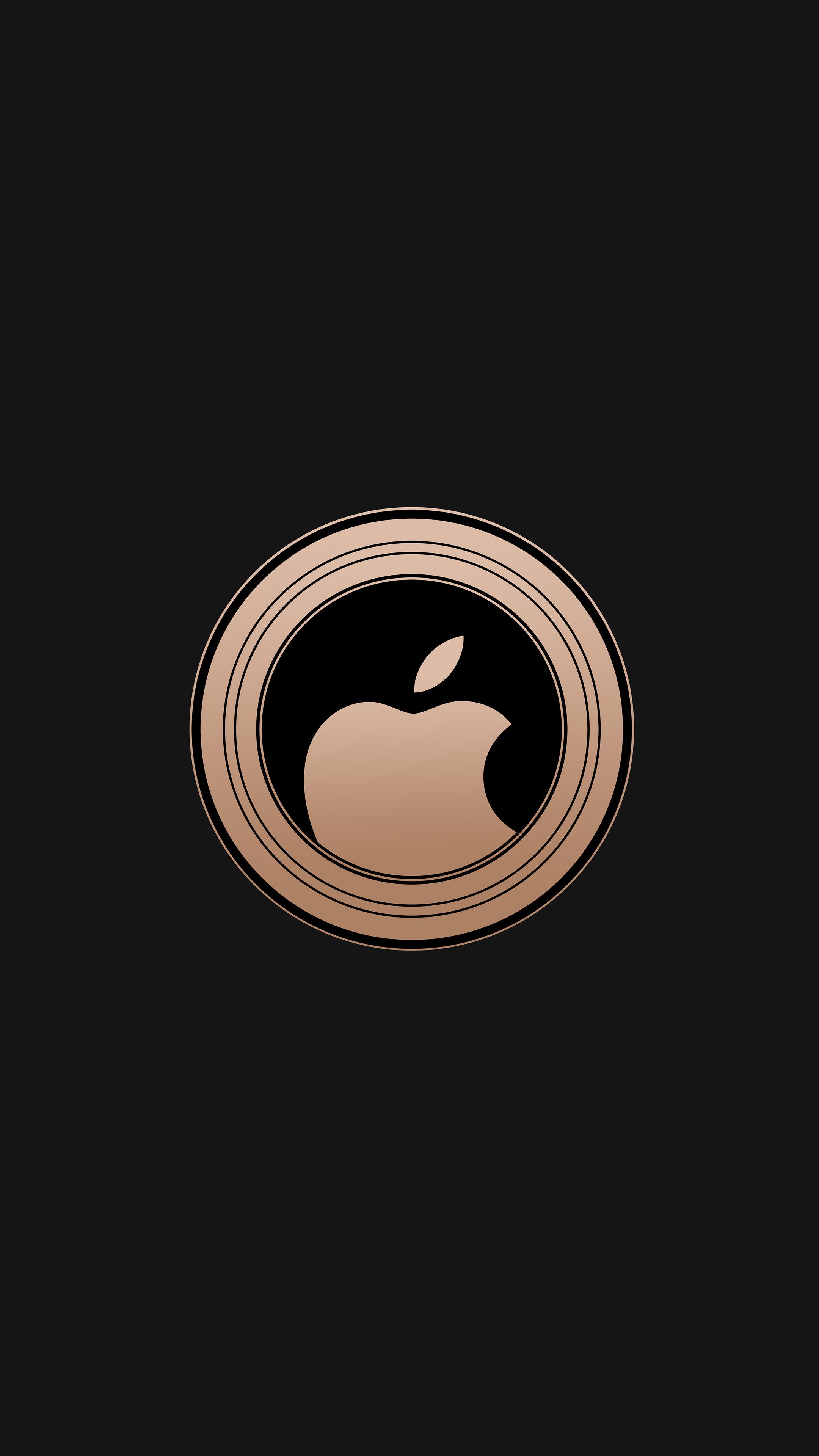 Ảnh nền 4k dành cho điện thoại - Logo quả táo cắn dở