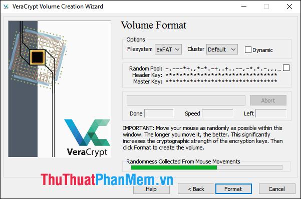 Mã hóa dữ liệu với VeraCrypt