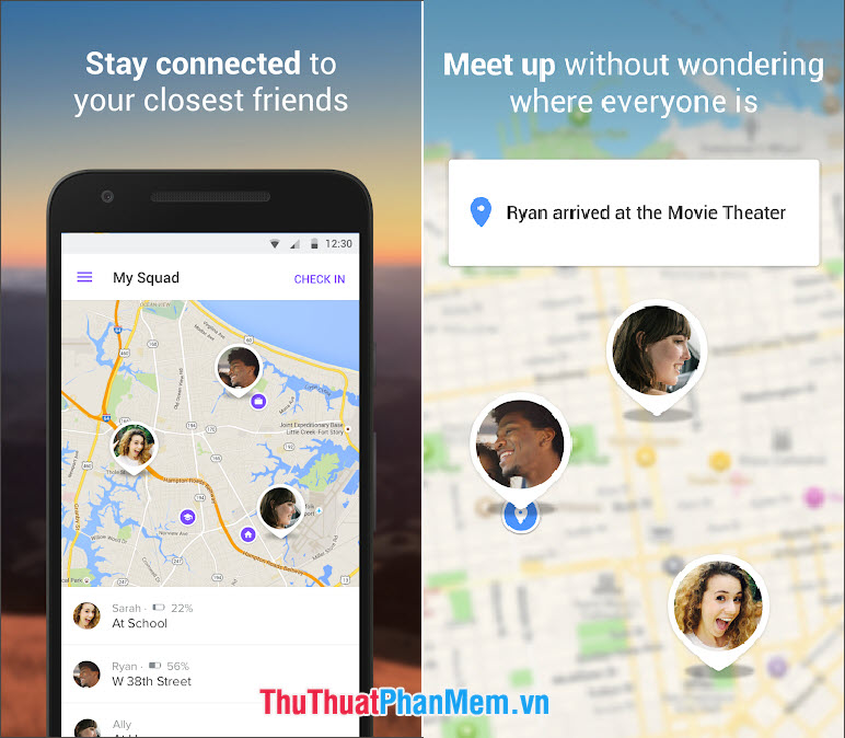 Find my friend (Android)