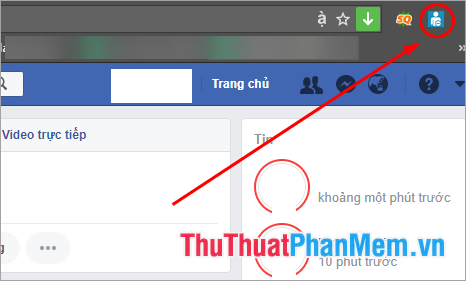 Hiển thị biểu tượng của Friend Remover PRO trên thanh công cụ