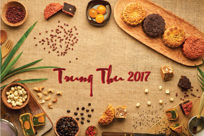 Background trung thu 2017 đẹp