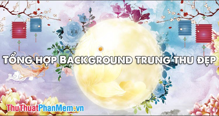 Background Trung Thu đẹp
