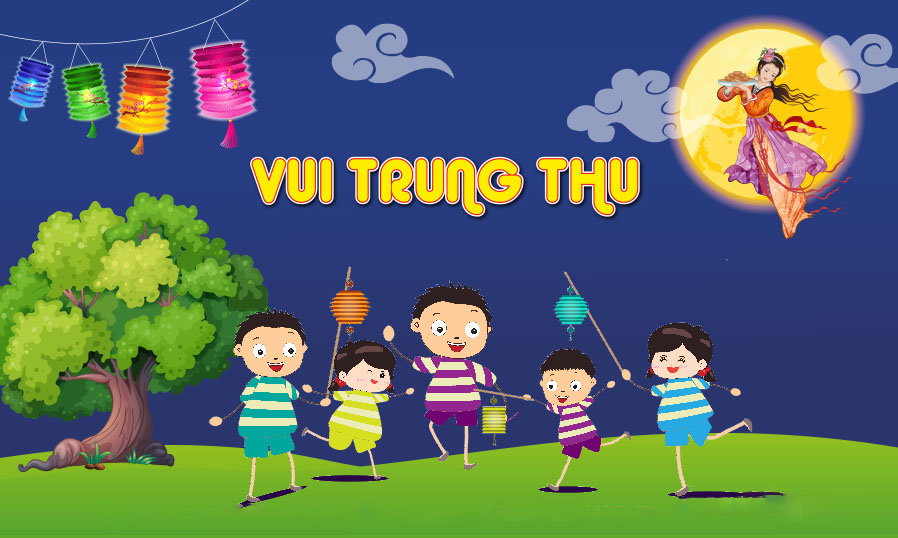 Trung thu Việt Nam background