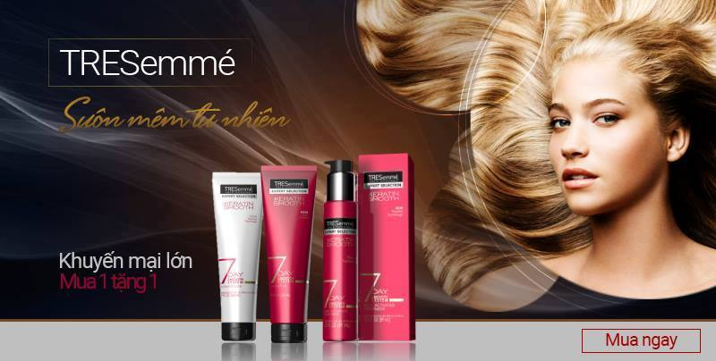 Ảnh banner quảng cáo mỹ phẩm dưỡng tóc