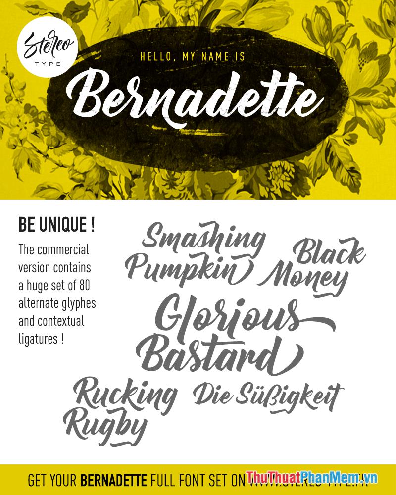 Font chữ thiết kế Banner miễn phí