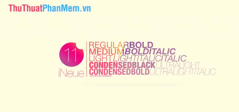 Font Helvetica dành cho thiết kế