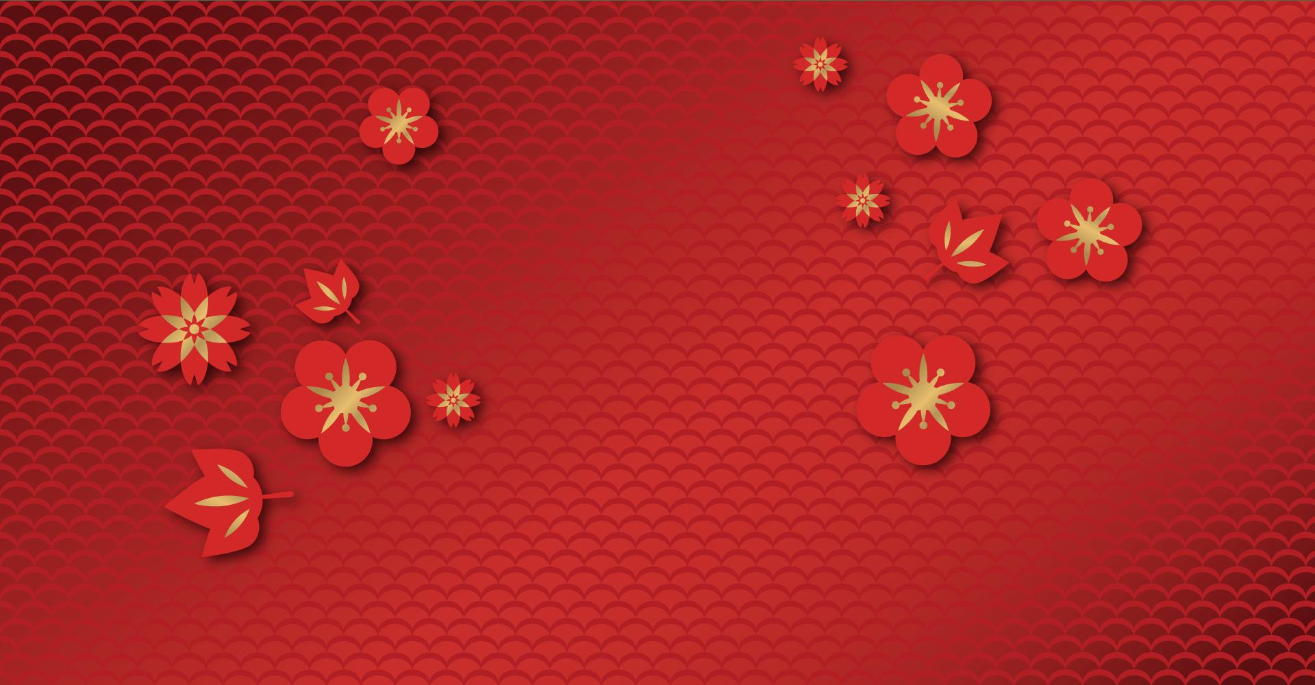 Nền background tết hoa đào