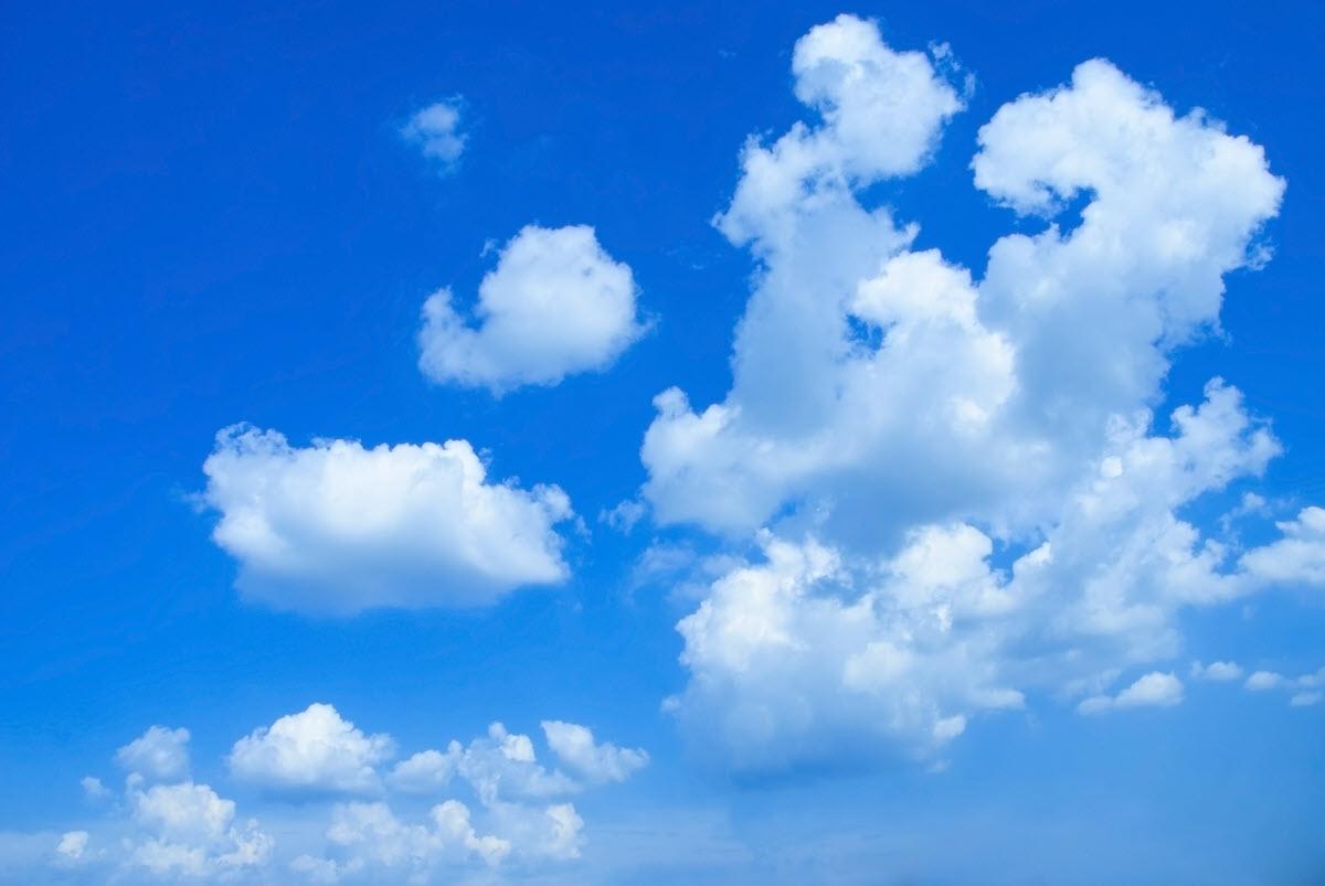 Background chủ đề mây trắng đẹp