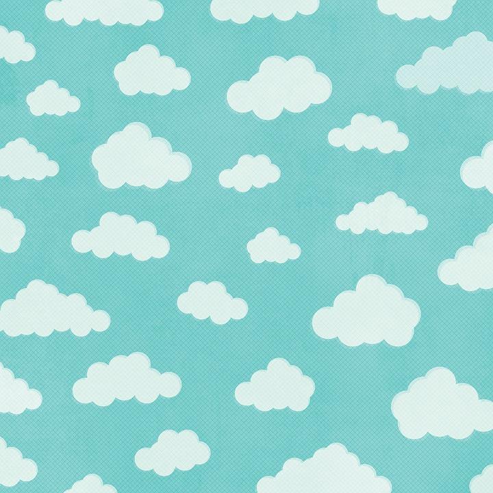 Background đám mây hoạt hình