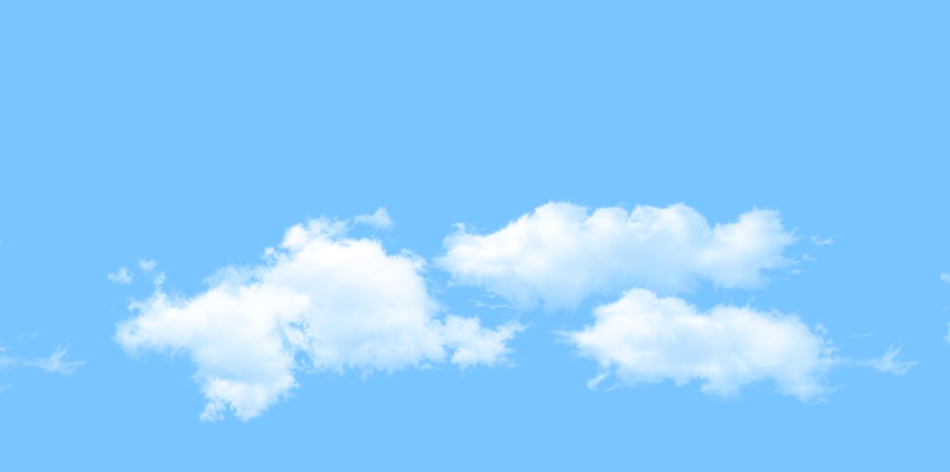 Background đẹp với mây xanh
