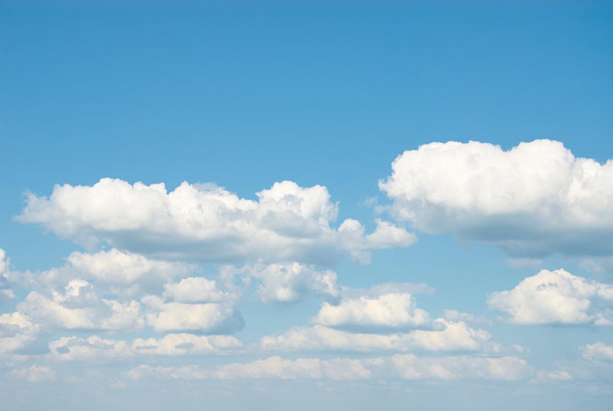 Background mây đẹp cho máy tính