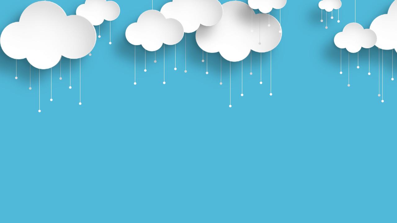 Background mây hoạt hình