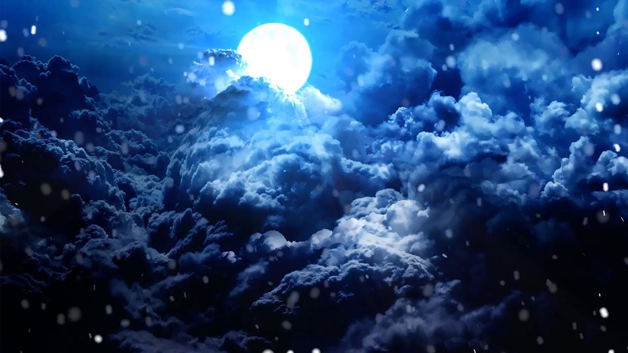 Background mây trời tối