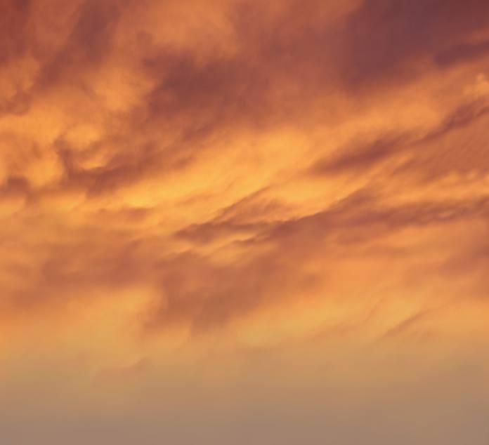 Background mây vàng