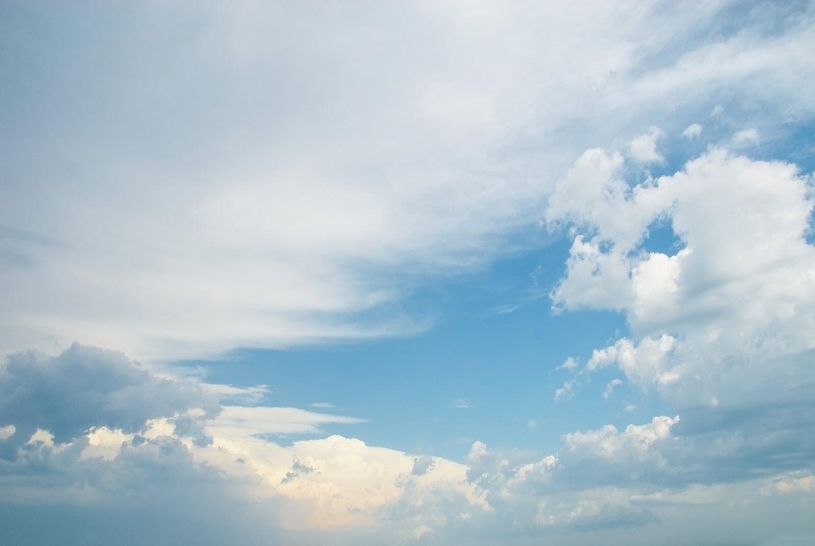 Background mây xanh đẹp và độc đáo