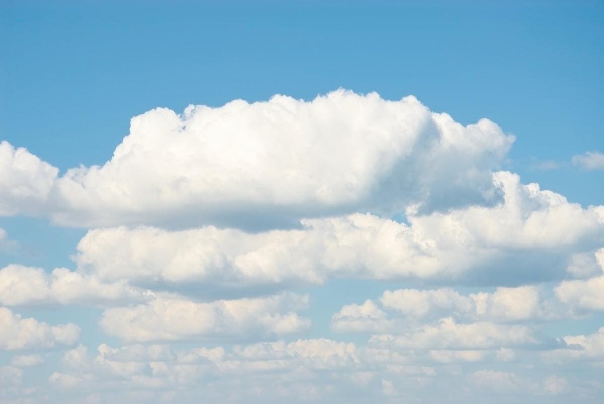 Nền background mây trắng đẹp