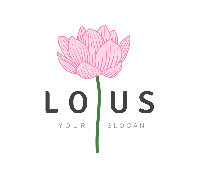 Ảnh logo hoa sen đẹp
