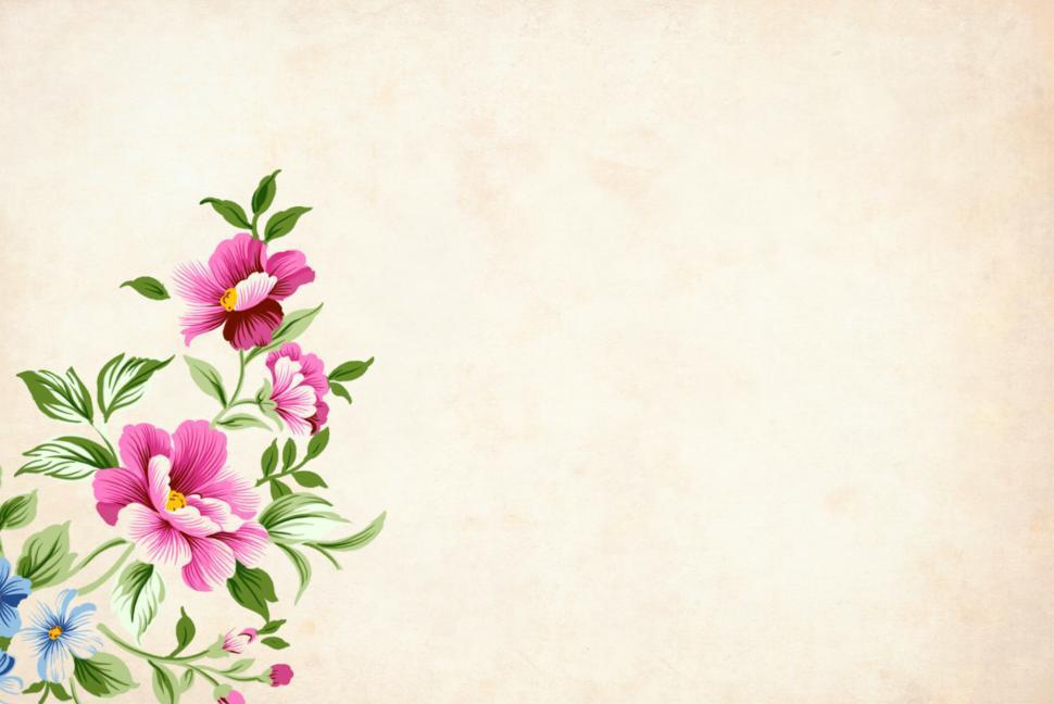 Background hoa đẹp và đơn giản