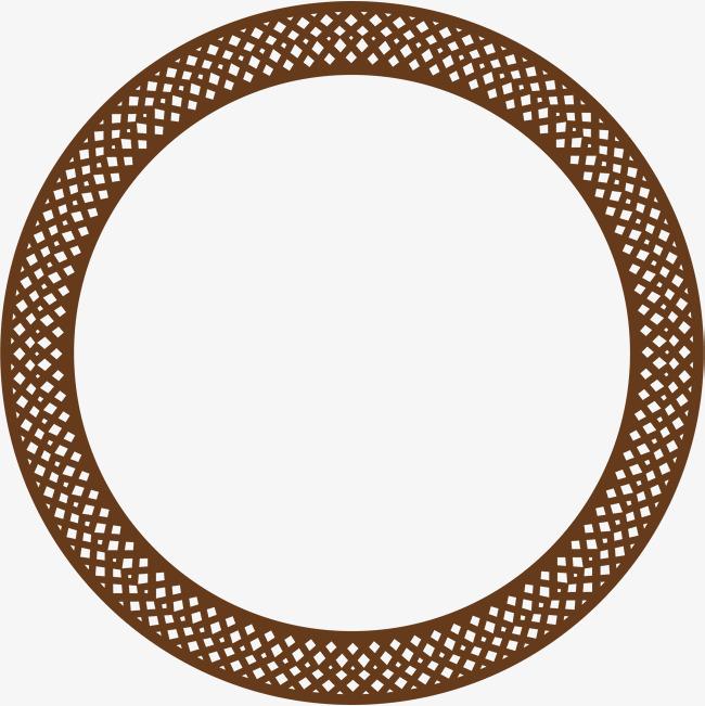 Hình tròn hoa văn