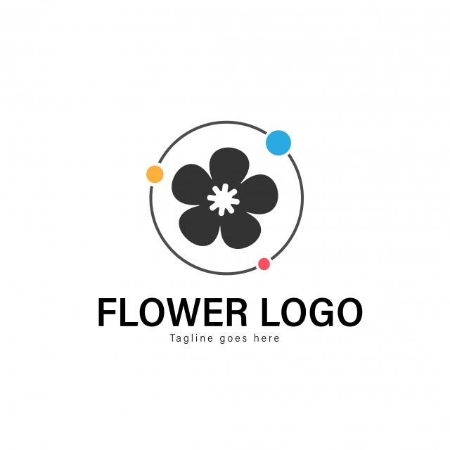 Logo bông hoa năm cánh