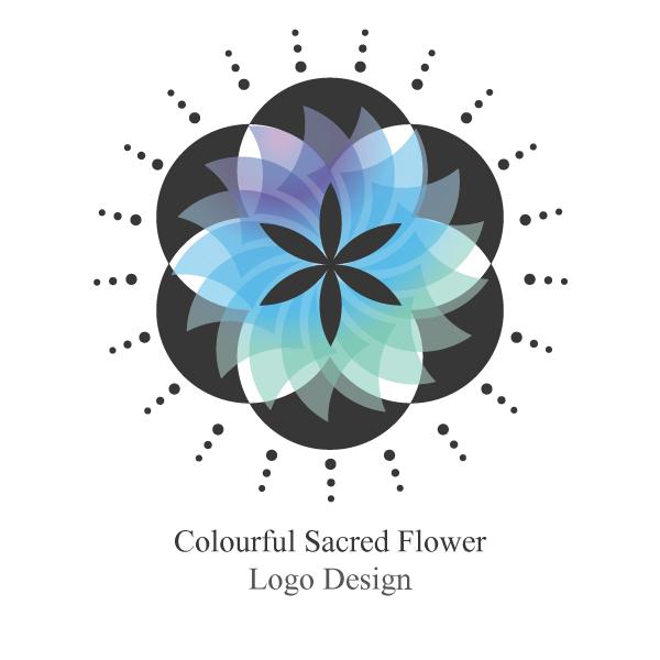 Logo đẹp hình bông hoa