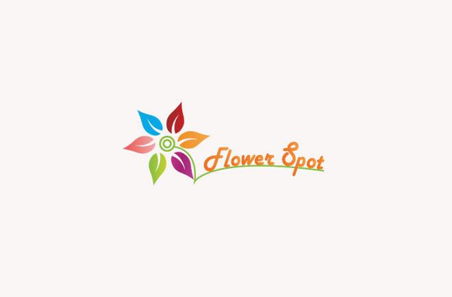 Logo hình bông hoa