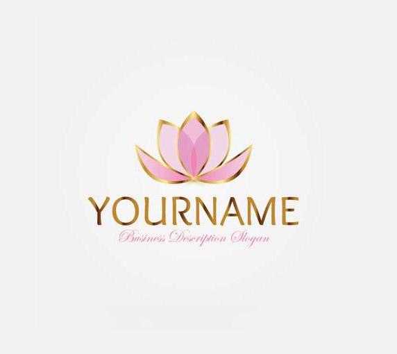 Logo hình cánh hoa