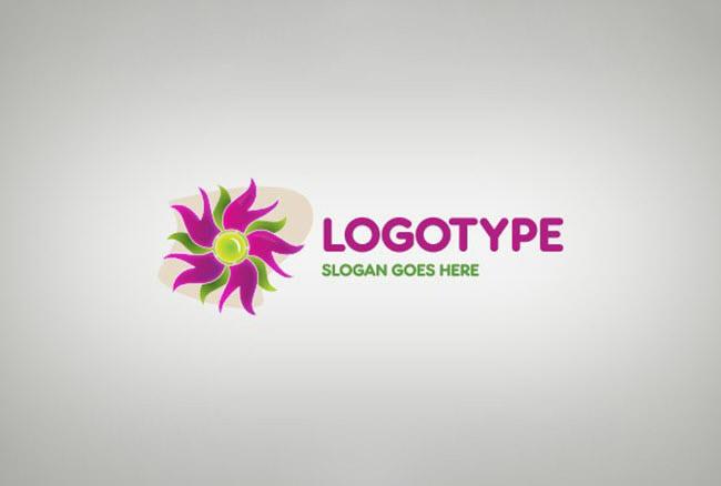 Logo hoa dành cho công ty