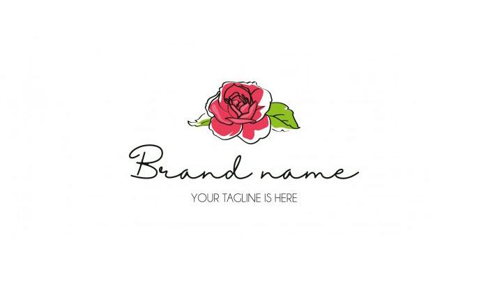 Logo hoa hồng đẹp