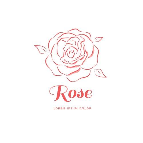 Logo hoa hồng