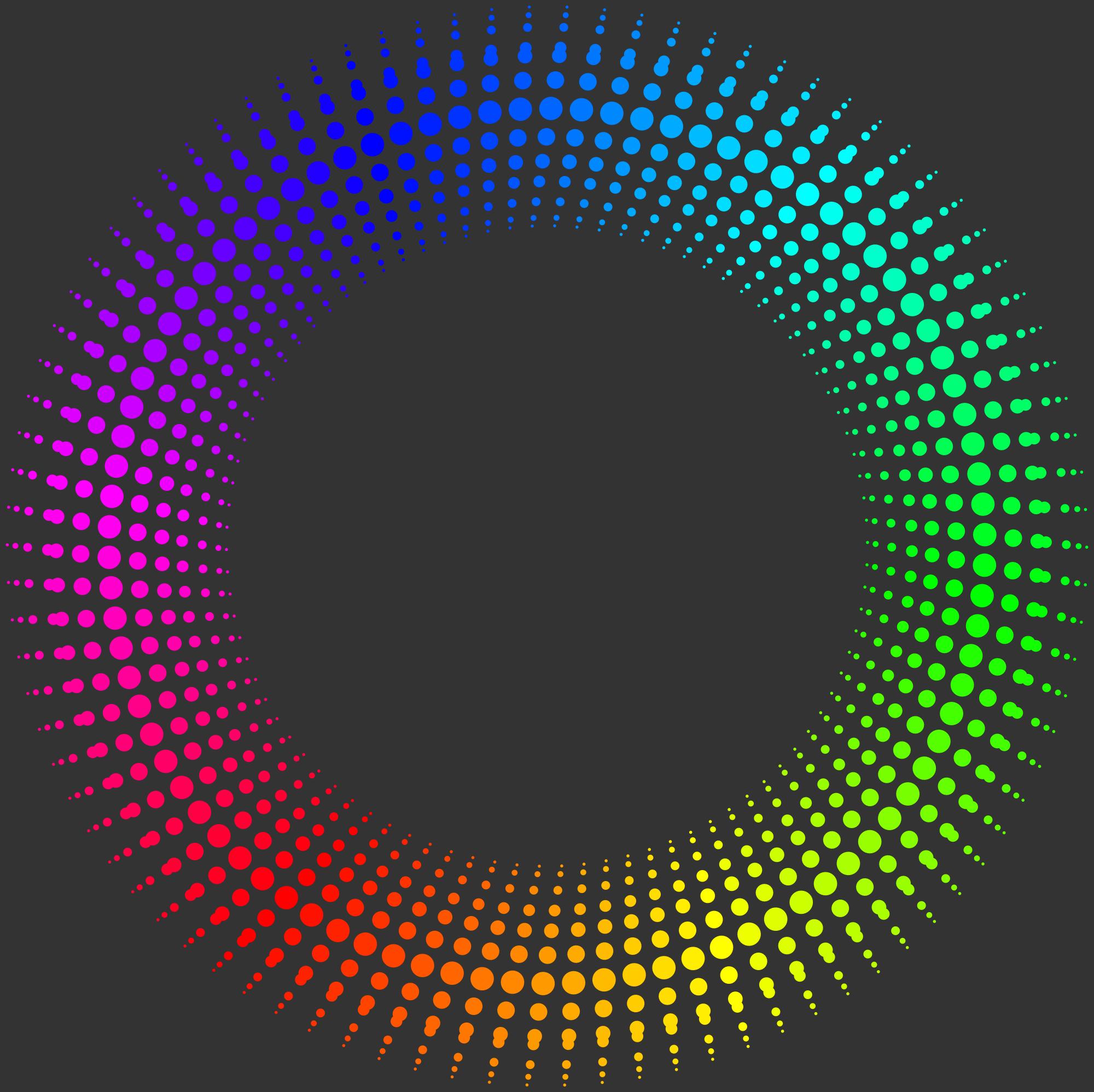 Mẫu hình tròn 3d đẹp