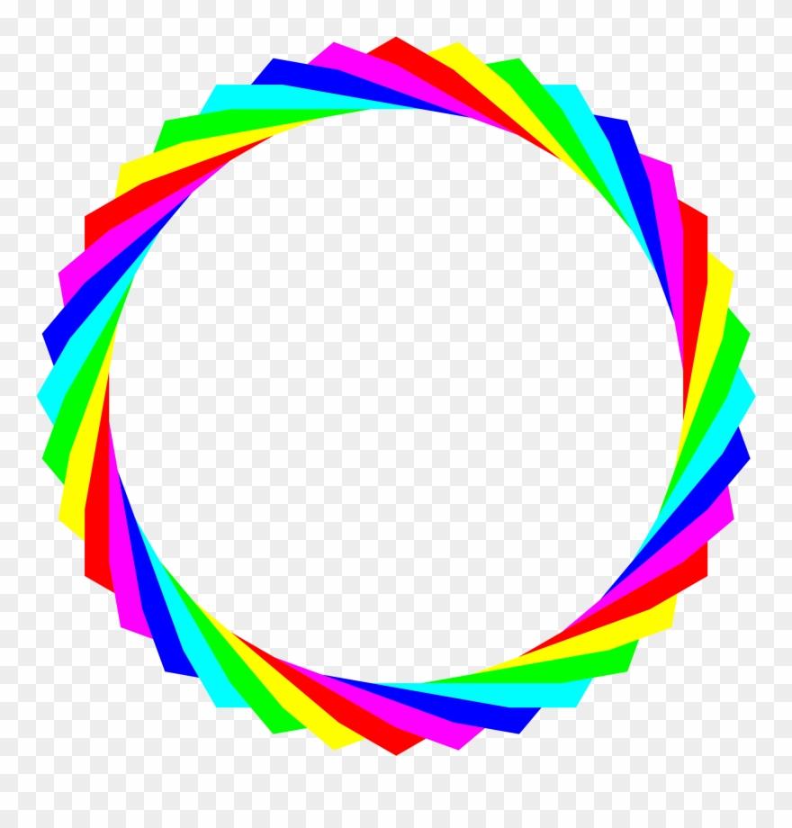 Mẫu hình tròn bảy sắc