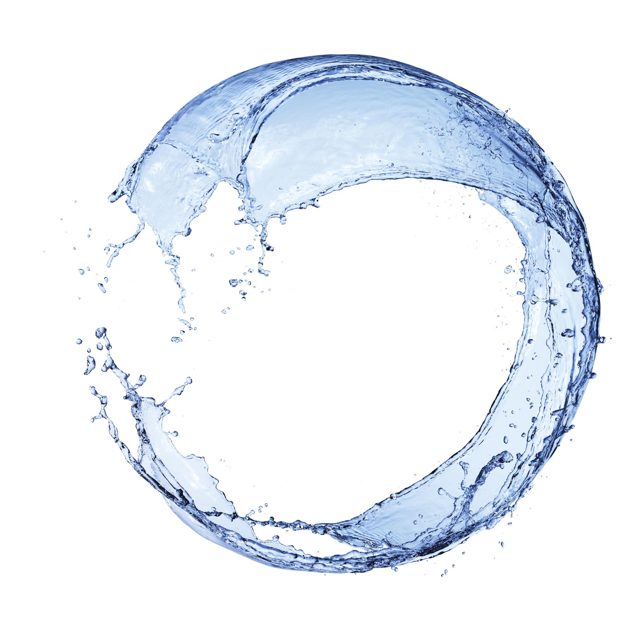 Mẫu hình tròn biểu tượng nước