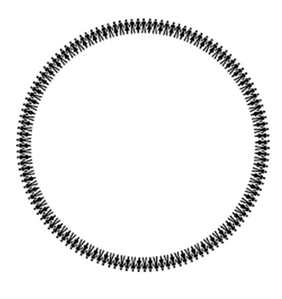 Mẫu hình tròn độc đáo và đẹp