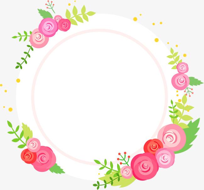 Mẫu hình tròn hoa lá