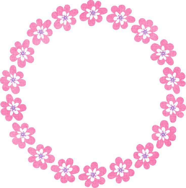 Mẫu hình tròn hoa