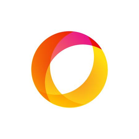 Mẫu hình tròn logo