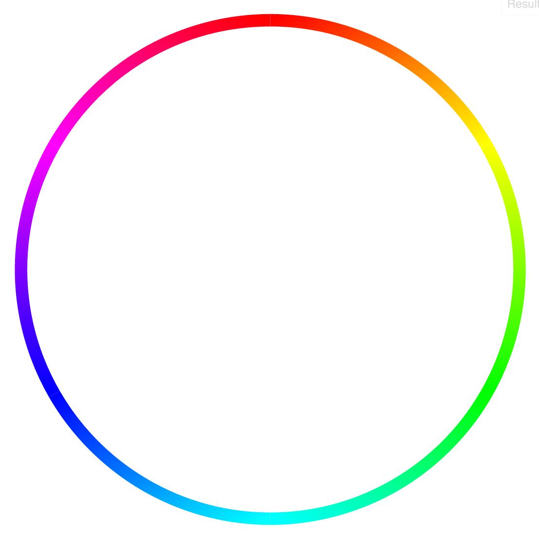 Mẫu hình tròn ngũ sắc đơn giản