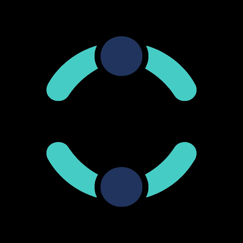 Mẫu hình tròn tạo logo