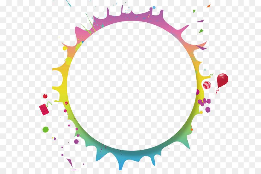 Mẫu hình tròn tô màu