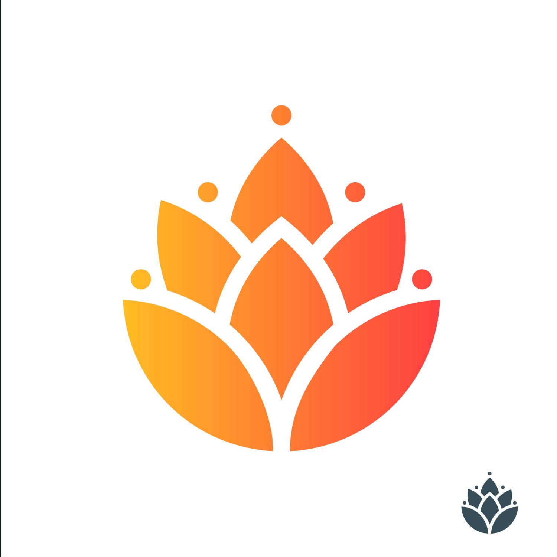 Mẫu thiết kế logo hoa đẹp