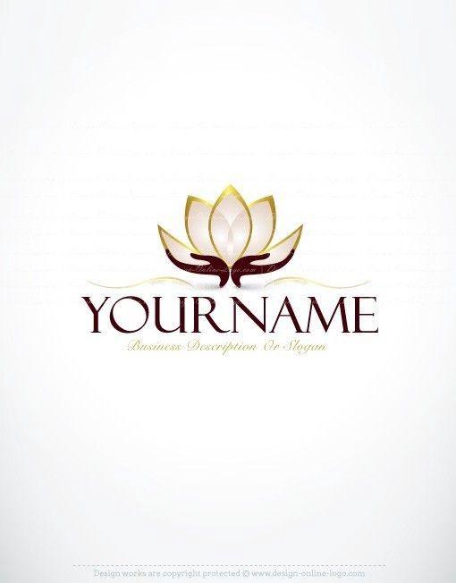 Mẫu thiết kế logo hoa sen